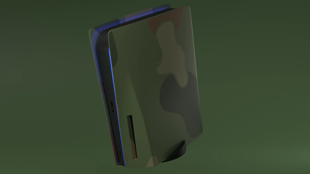 platestation5-custom-ps5-faceplates-outer-shell-jungle-camo
