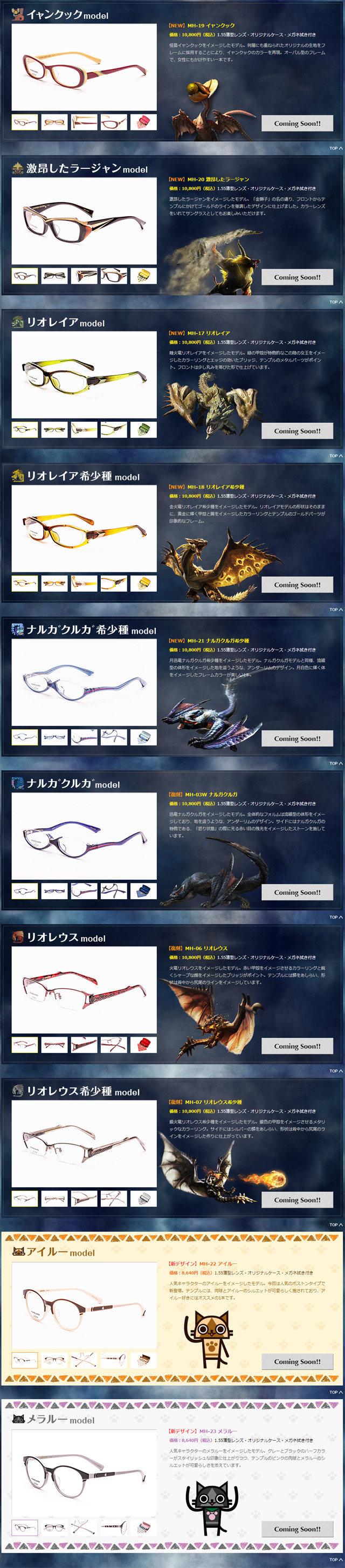 メガネのコピー
