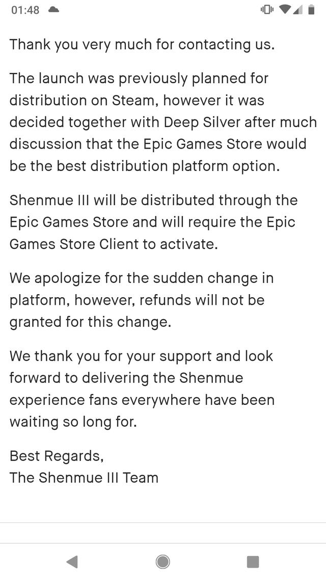 Shenmue-3-refund-refusal-1