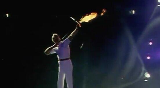 1992年バルセロナ五輪の聖火点灯がカッコ良すぎると話題に! 確かにコレは震える