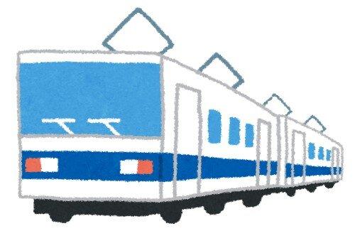 【画像】通過電車に飛び込んで窓2枚を突き破って車内まで入り、乗客5人を巻き込んだ男性が死亡 1人は骨折する重傷を負う