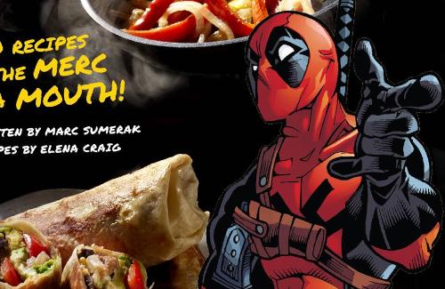 【????】アメコミヒーロー・デッドプールの料理本が公式から登場wwwwwwww