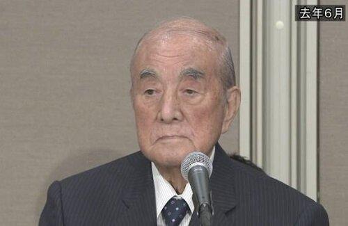 故中曽根康弘元首相の葬儀に約1億円  政府が閣議決定、予備費から支出
