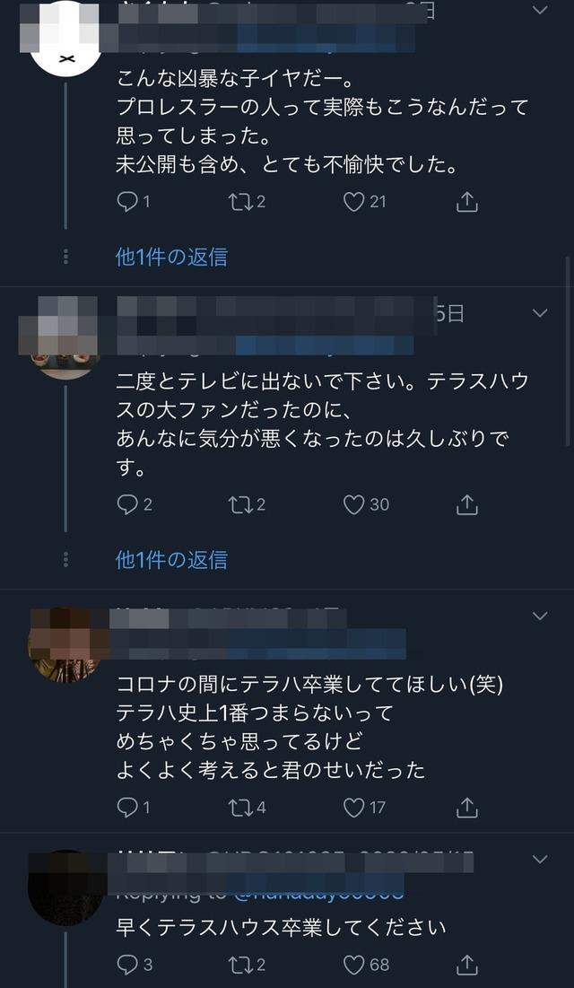 木村花 誹謗中傷内容 理由