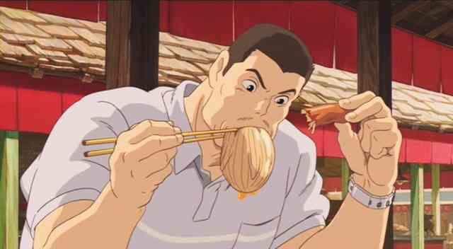 『千と千尋の神隠し』千尋の父が食べていた謎のブヨブヨ、正体が判明!!えっそんなモノ食ってたの!?