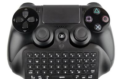 PS4コントローラーに取り付けられる、キーボート兼バッテリーパックが海外で発売決定!の画像