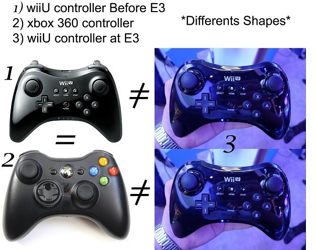 differents shape wiiU