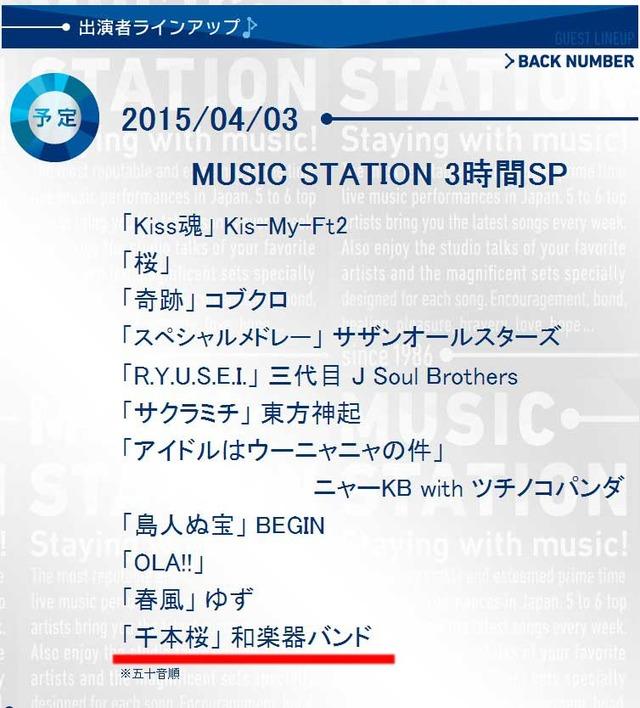 テレビ朝日|ミュージックス