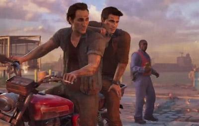 PS4『アンチャーテッド4』E3プレイ映像の続きが公開!アクションシーンがすごすぎるwwwwwの画像