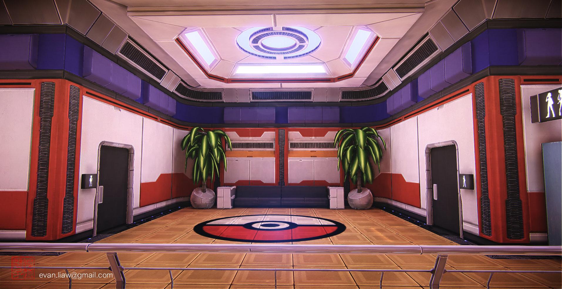 ゲームのポケモンセンターをリアルに再現したらこうなった これは行って