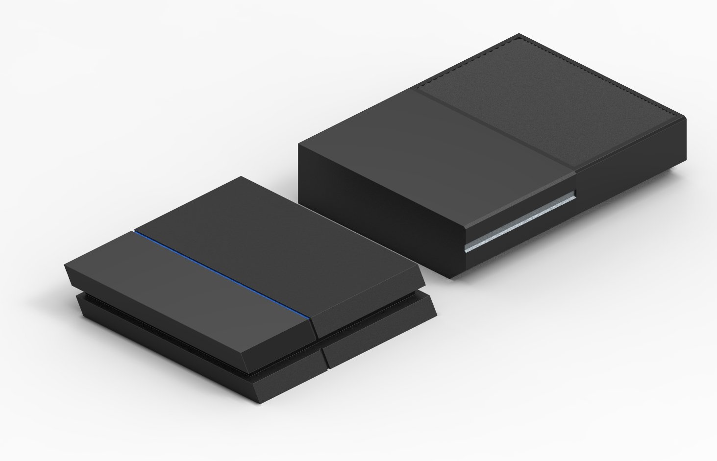 how to add fat external drive to ps4