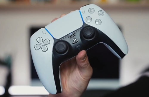【噂】『PS5』のコントローラ『デュアルセンス』の黒バージョンの画像がリークされる!