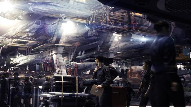 Galactica_Hanger_Bay_Cylon_War_Configuration