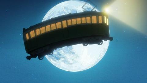 空を飛ぶ電車