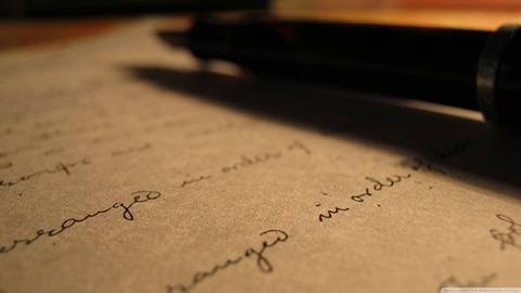 手紙書いてみた