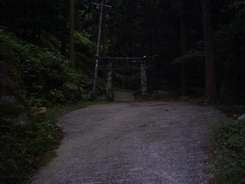 開かずの廃神社
