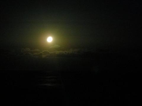 山の夜釣り