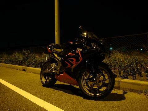 バイクの悲劇
