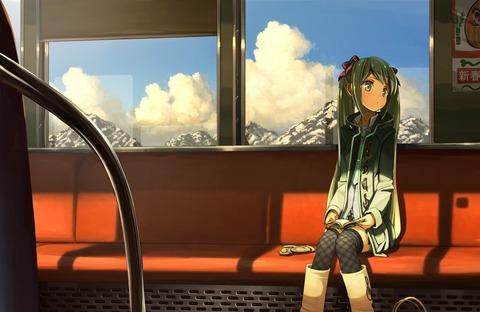 電車の彼女