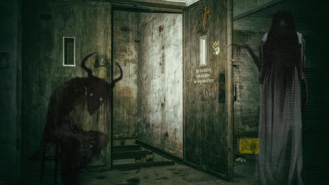 呪いの隣室