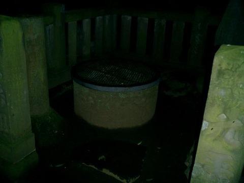 地下の井戸