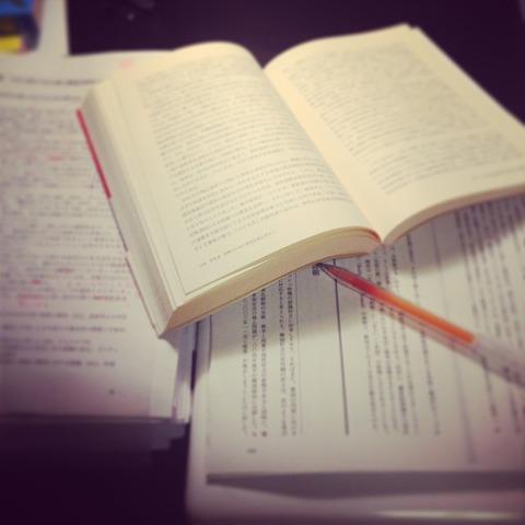 深夜の勉強