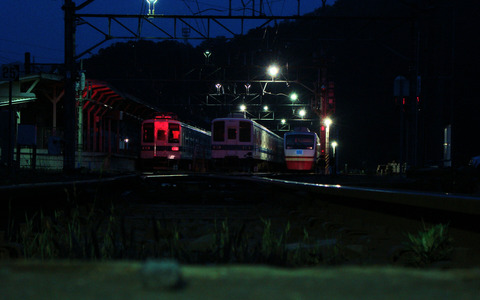 深夜の幽霊列車