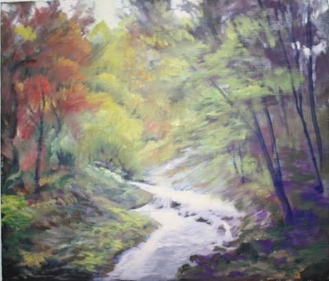 風景画の霊