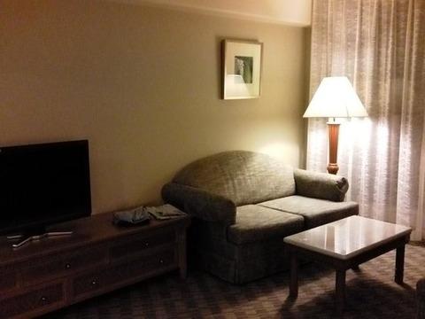 ホテルに泊まった