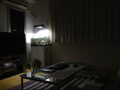 暗い部屋の幽霊