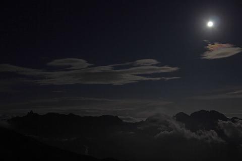 夜の山での出来事