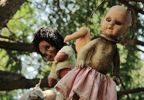 人形と幽霊