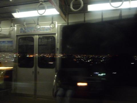暑い電車内