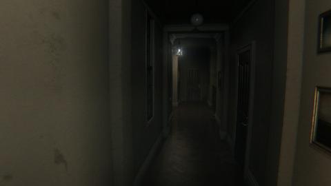 トイレのドアを叩く者