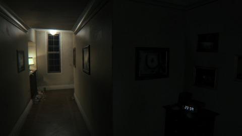 深夜の校舎