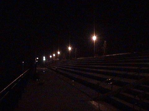 夜釣りの光景
