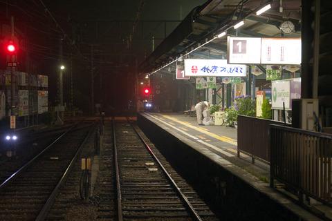 駅の監視カメラ