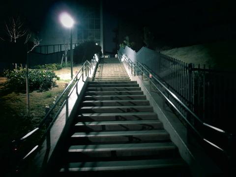 呪いの階段