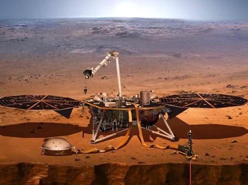 【海外の反応】NASAの探査機・InSight(インサイト)が火星に上陸成功