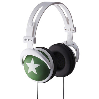 mix-style headphone Star Green