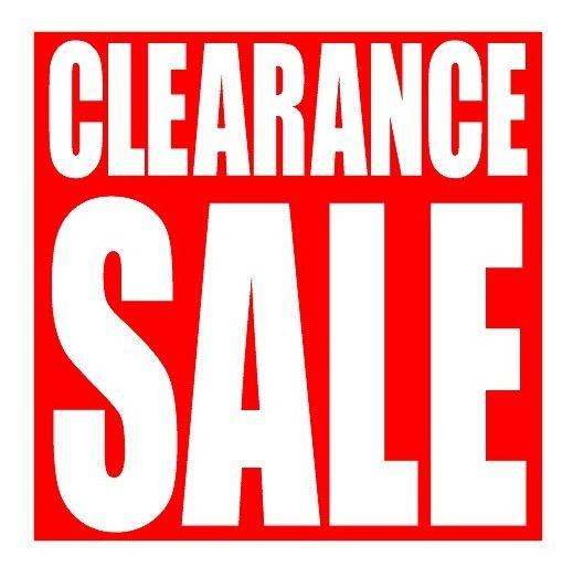 clearance sale2