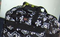ハワイーホヌ柄のバッグ