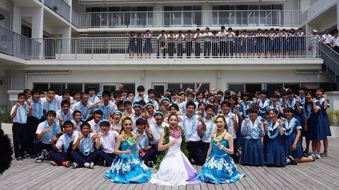 「フラガール全国きずなキャラバン2019」熊本_集合写真