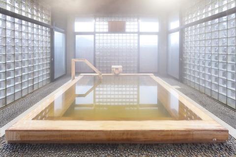 大浴場パレス:檜風呂