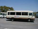 駐車場シャトルバス