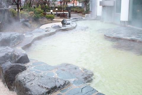 大浴場パレス:露天風呂