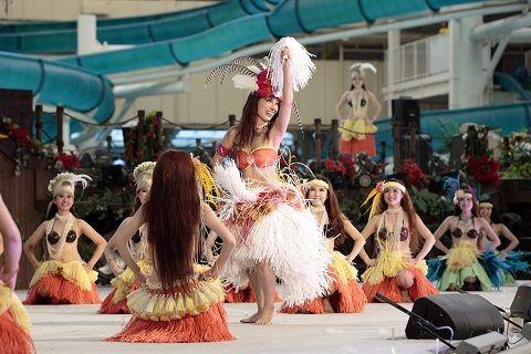 タヒチの踊り