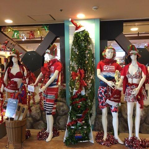 クリスマスマネキン