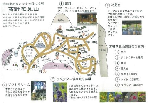 高野花見山園内Map
