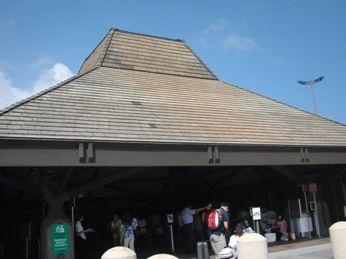 コナ国際空港搭乗